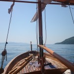 Our traditional wooden boat